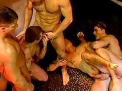 Gay group banging