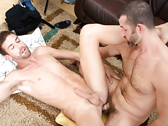 CJ's chubby cock is a bargain deal that Jake can't pass up!