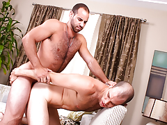 wavy sexually aroused hunks with huge cocks apple bottoms fuck pending they cum
