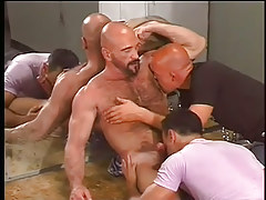 Brilliance puncture for gay guys and bears in 2 episode