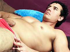 Adonis Drains His Muscle Cock - Adonis
