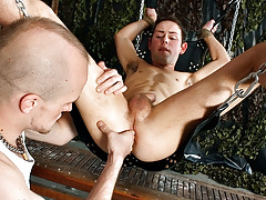 Face Owned With A Cummy Ramrod - Ethan Oliver And Kieron Knight