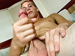 Young Straight jock Wakes Up and Jerks Off - Puppy