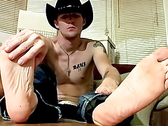 Cowboy Feet And Ramrod Stroking! - Ty And Lee Barstow