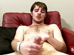 Robert Jerks off his big penis