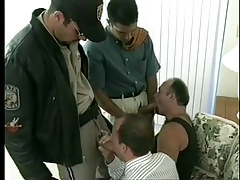 Sticky man-lover policemen uniform porn rough groupie in 2 episode