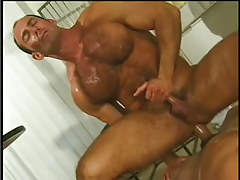 Hot navy guy getting smack of cock in 7 clip