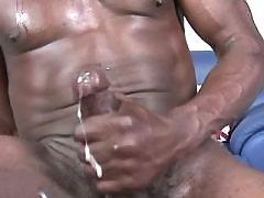 Tight black studs arrange wild orgy