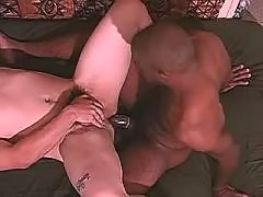 Lustful ebon faggots have a fun it firm