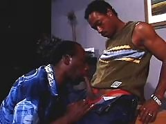 Black man-lover spreads for large cock