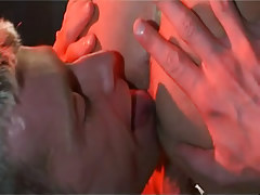 Horny adolescent man-lover licks fellas arsehole