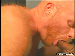 Redhead shaggy fruit face holes appetizing ramrod