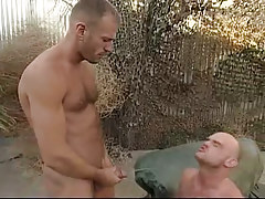 Depraved man-lover urtication on companion outdoor